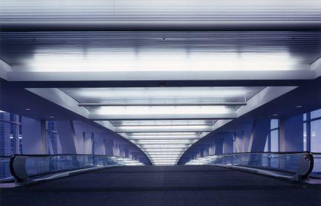 DIA Passenger Bridge Interior