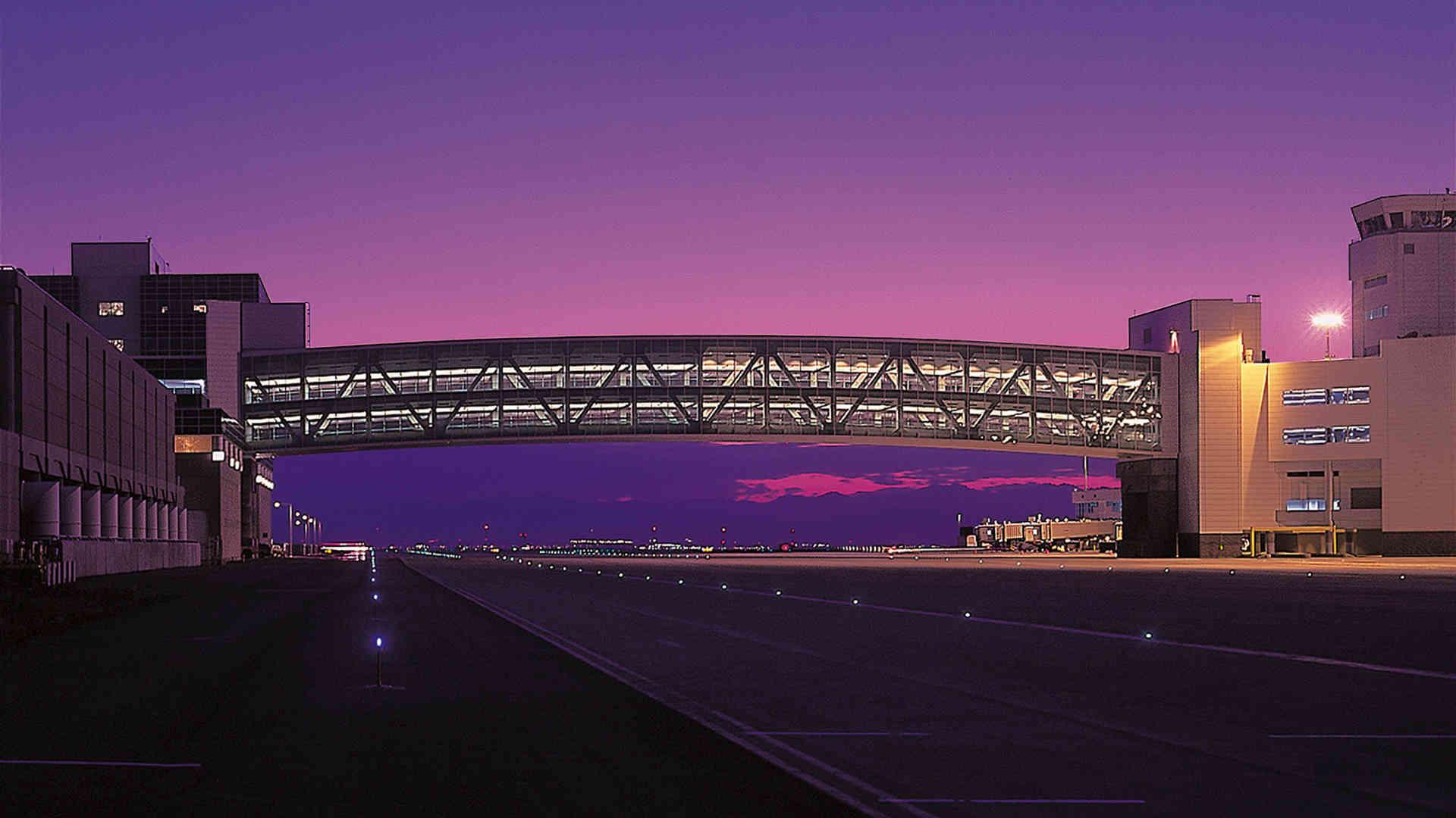 Denver International Airport Terminal A Bridge